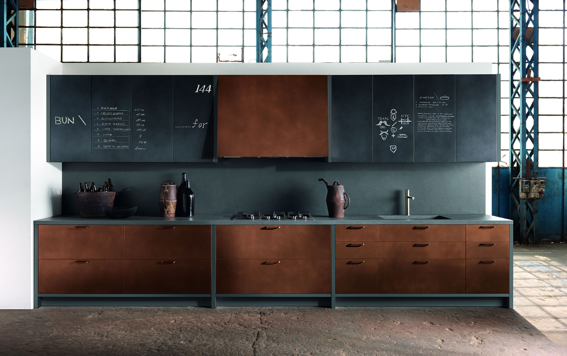 Factory by Aster Cucine - Habitat by Aeon