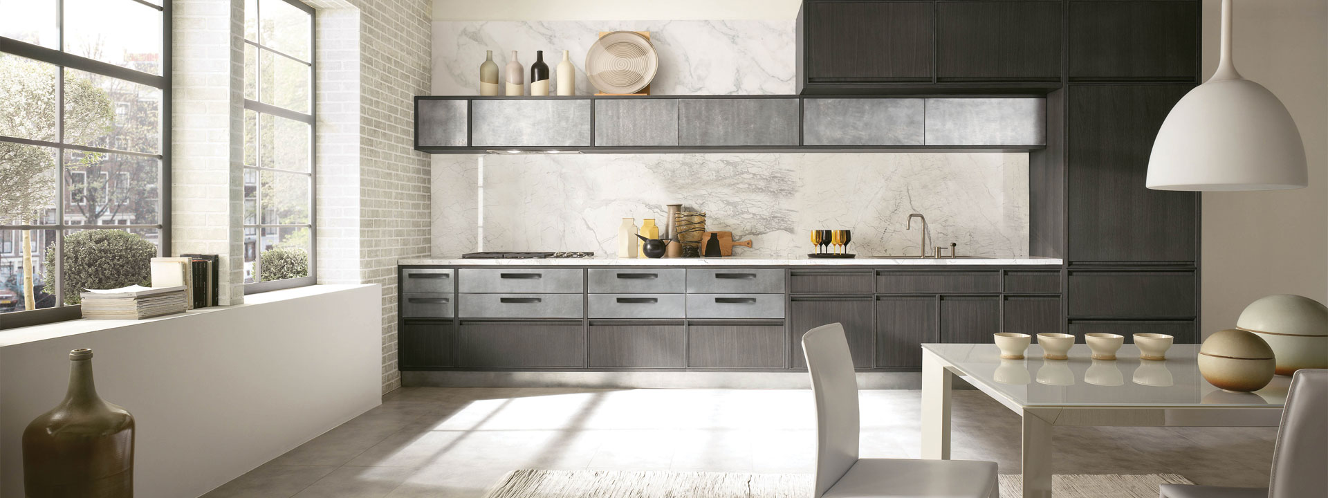 Italian Designed Transitional Kitchens
