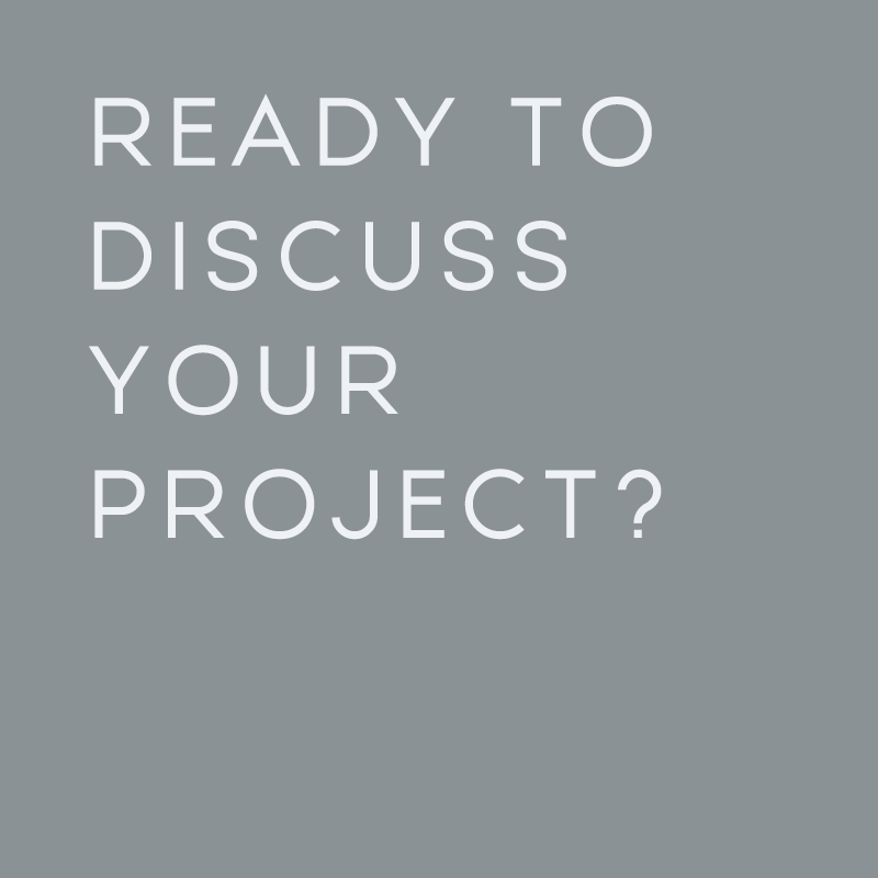 Ready to discuss your project? Email us today!